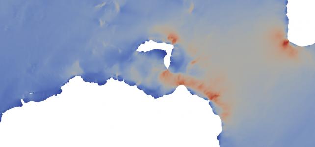 Tidal energy resource assessment of Rathlin Sound