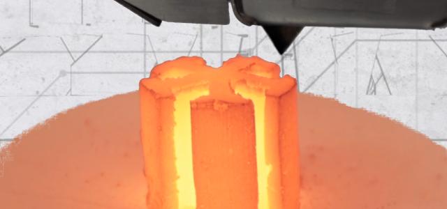 Sinterbot:3Dプリントモーターと発電機