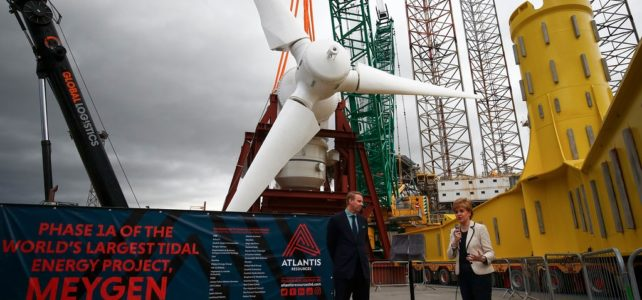 Coming soon… Europe's largest tidal array